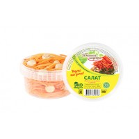 Салат морковь с грибами по-корейски