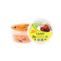 Салат морковь с баклажанами по-корейски